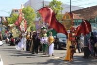 Karnaval Dekranasda dalam rangka Pesta Rakyat Jateng 2017